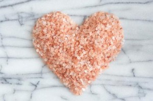 Pink Himalayan Sea Salt Heart